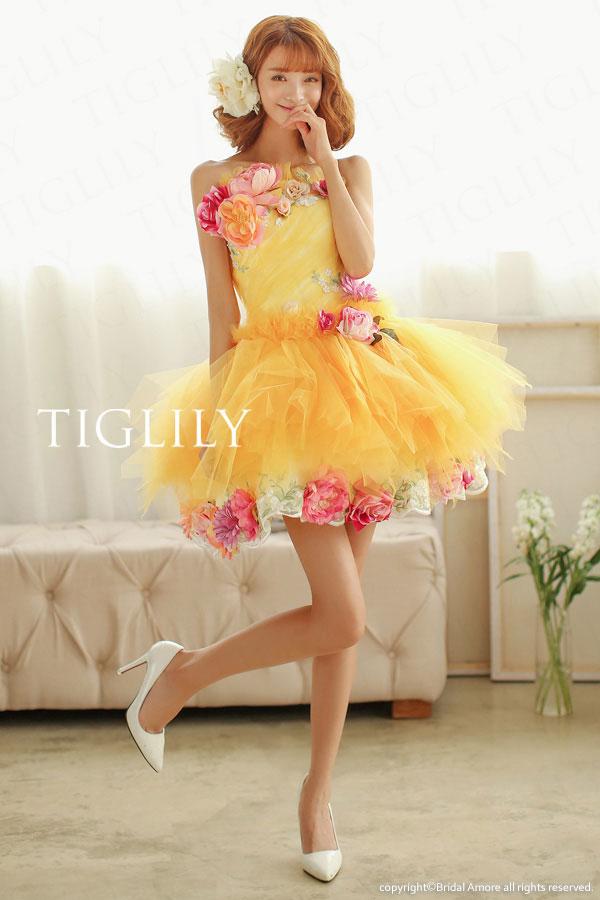 TIGLILY ミニドレス s105y